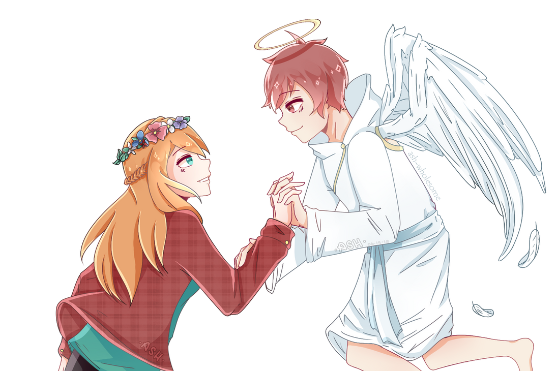 || My Guardian Angle || [ Gift made by Ash ] by JuneArtCraft19