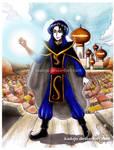 Mozenrath from Aladdin