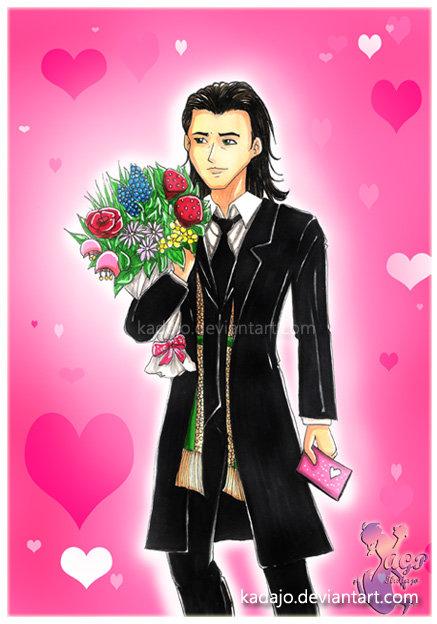 Be my Valentine by Kadajo