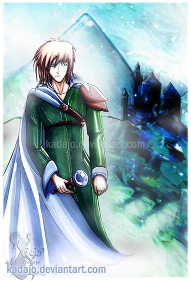 Wizard and Snow by Kadajo