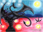 Dragon - Watercolor version