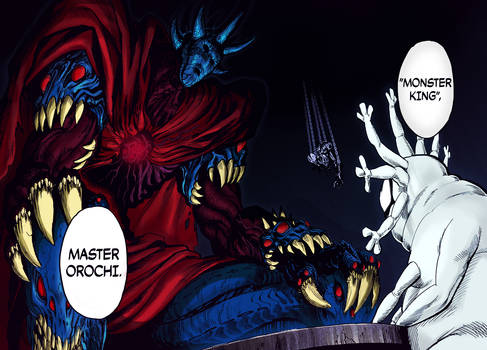 Monster King colored