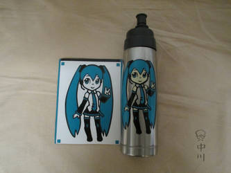 Miku Vinyl Stickers by cattoy-bn