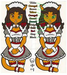 Catgirl Maid Sticker