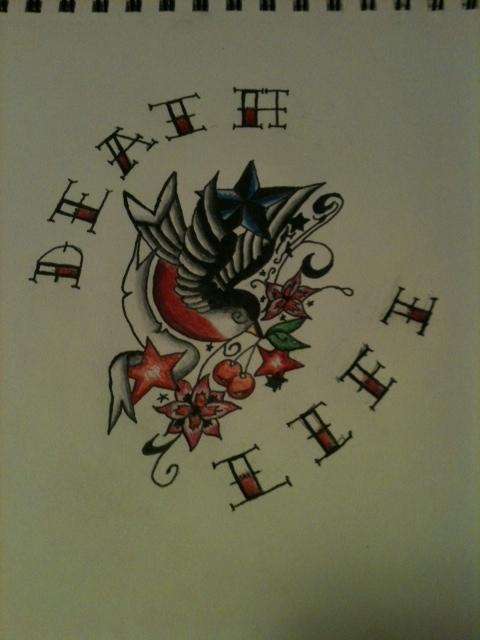 life and death tattoo design by linushollowed13 on deviantart. Black Bedroom Furniture Sets. Home Design Ideas