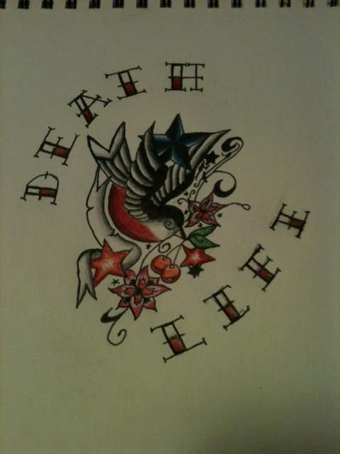 Life and Death Tattoo Design by LinusHollowed13 on DeviantArt