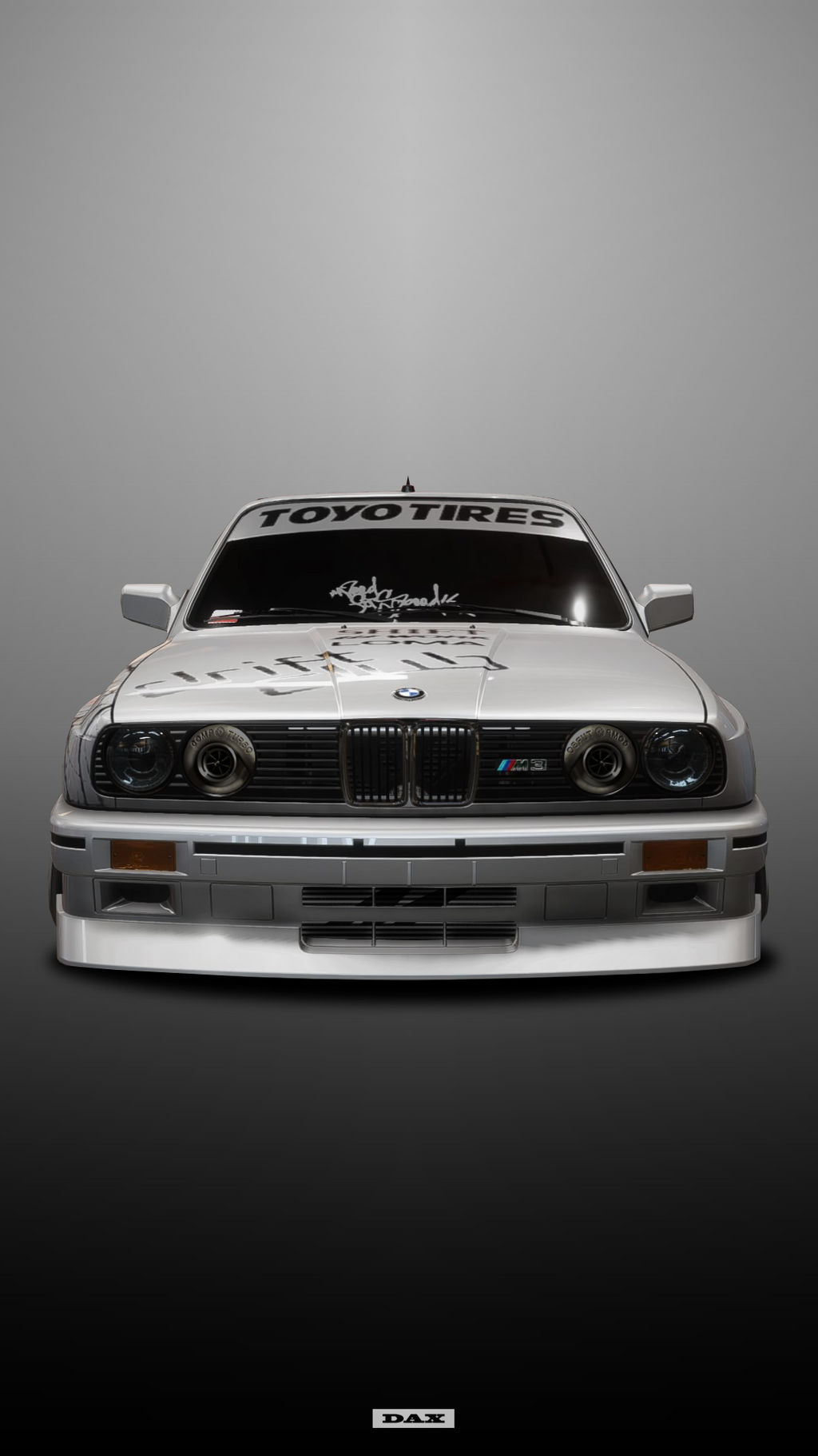 Bmw E30 Drift 23 Front By Dax5252 On Deviantart