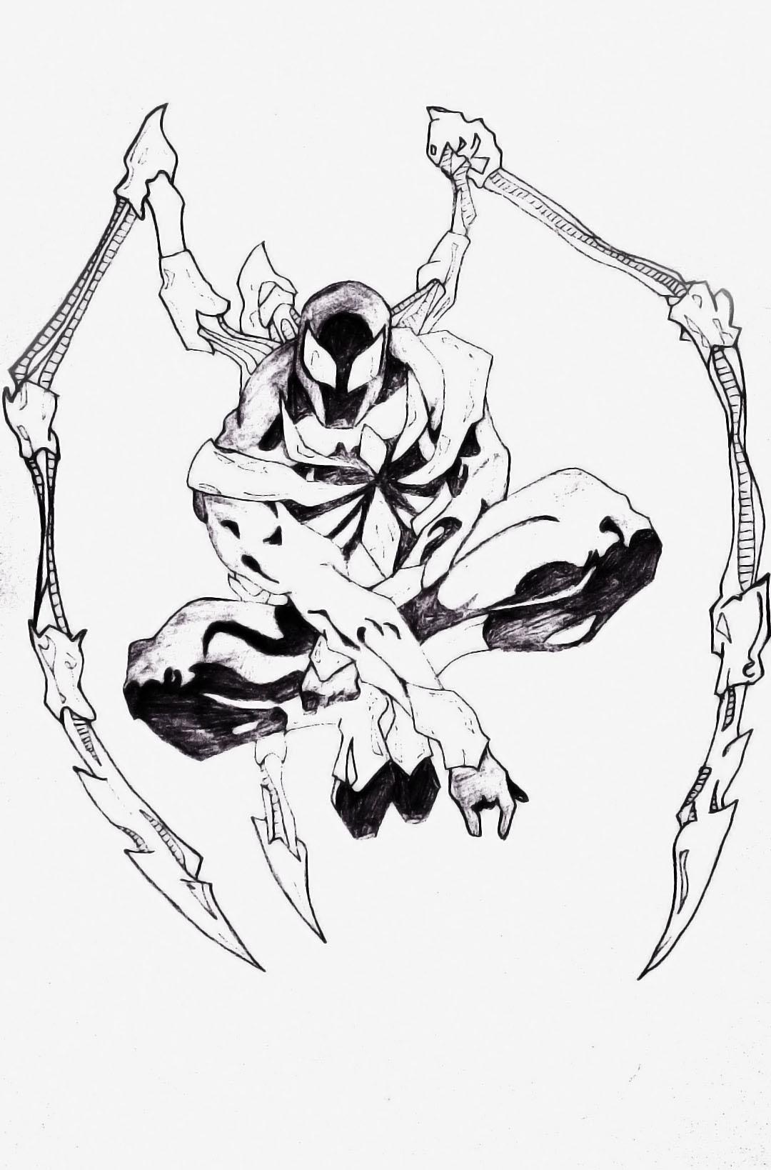 Iron Spider by mubassam on DeviantArt  Iron Spider by ...