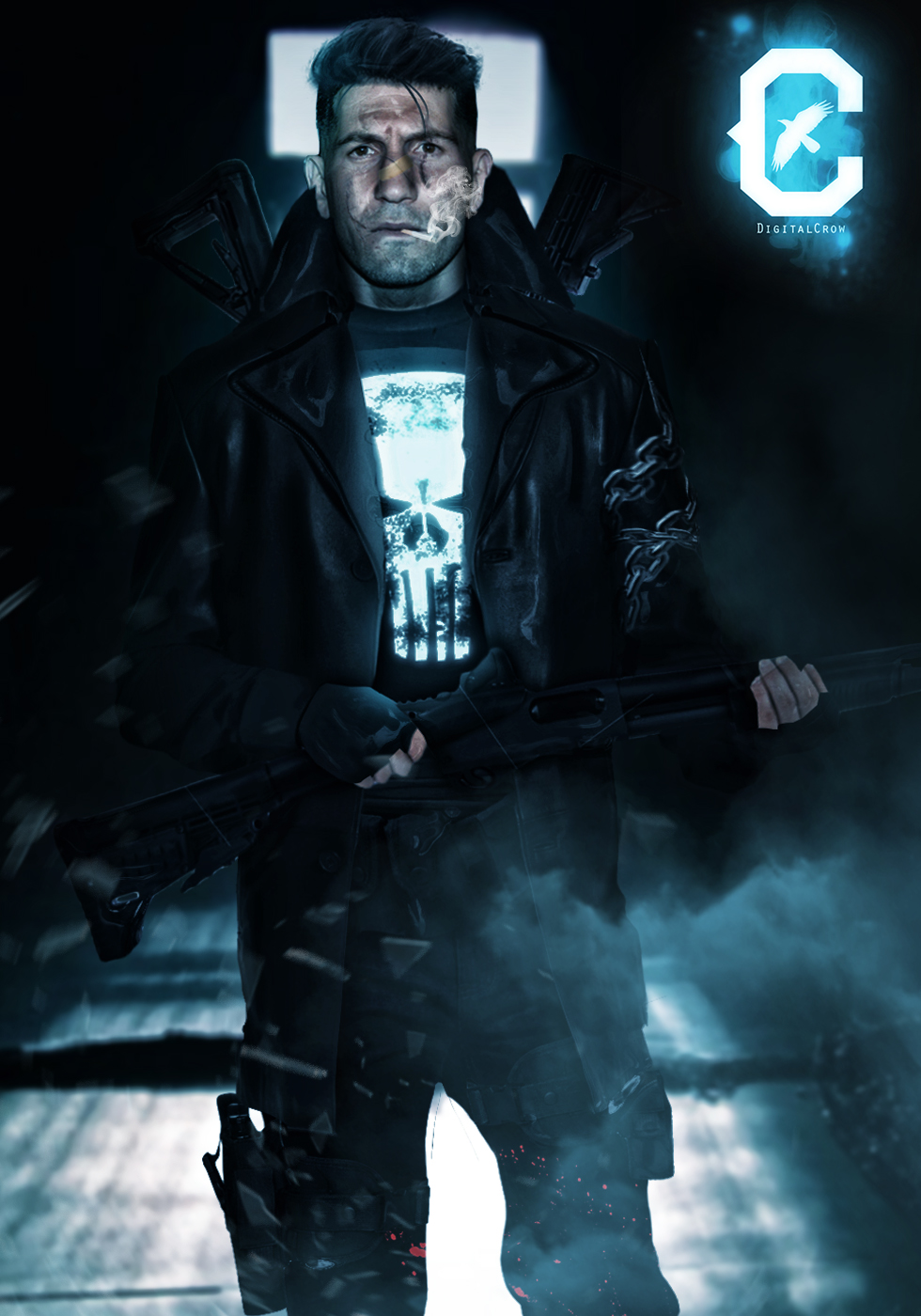 Jon Bernthal As The Punisher By Mubassam On Deviantart