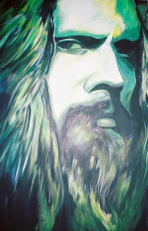 Rob Zombie, Hairy Godfather by RayvenOGiger