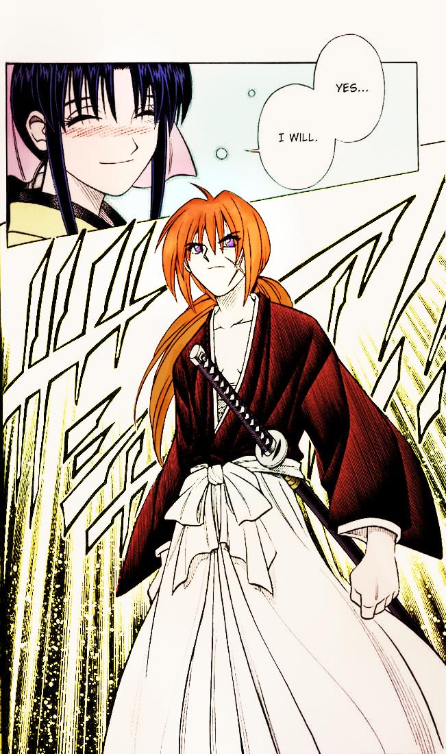 Gallery For > Rurouni Kenshin Manga