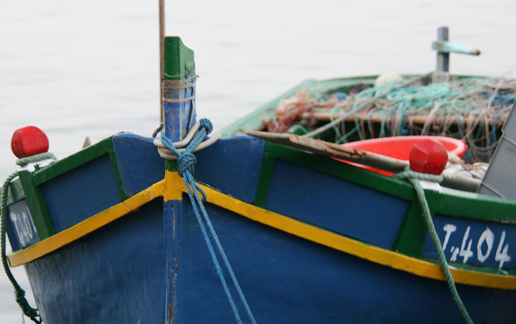 Maltese fish boat by Riddande