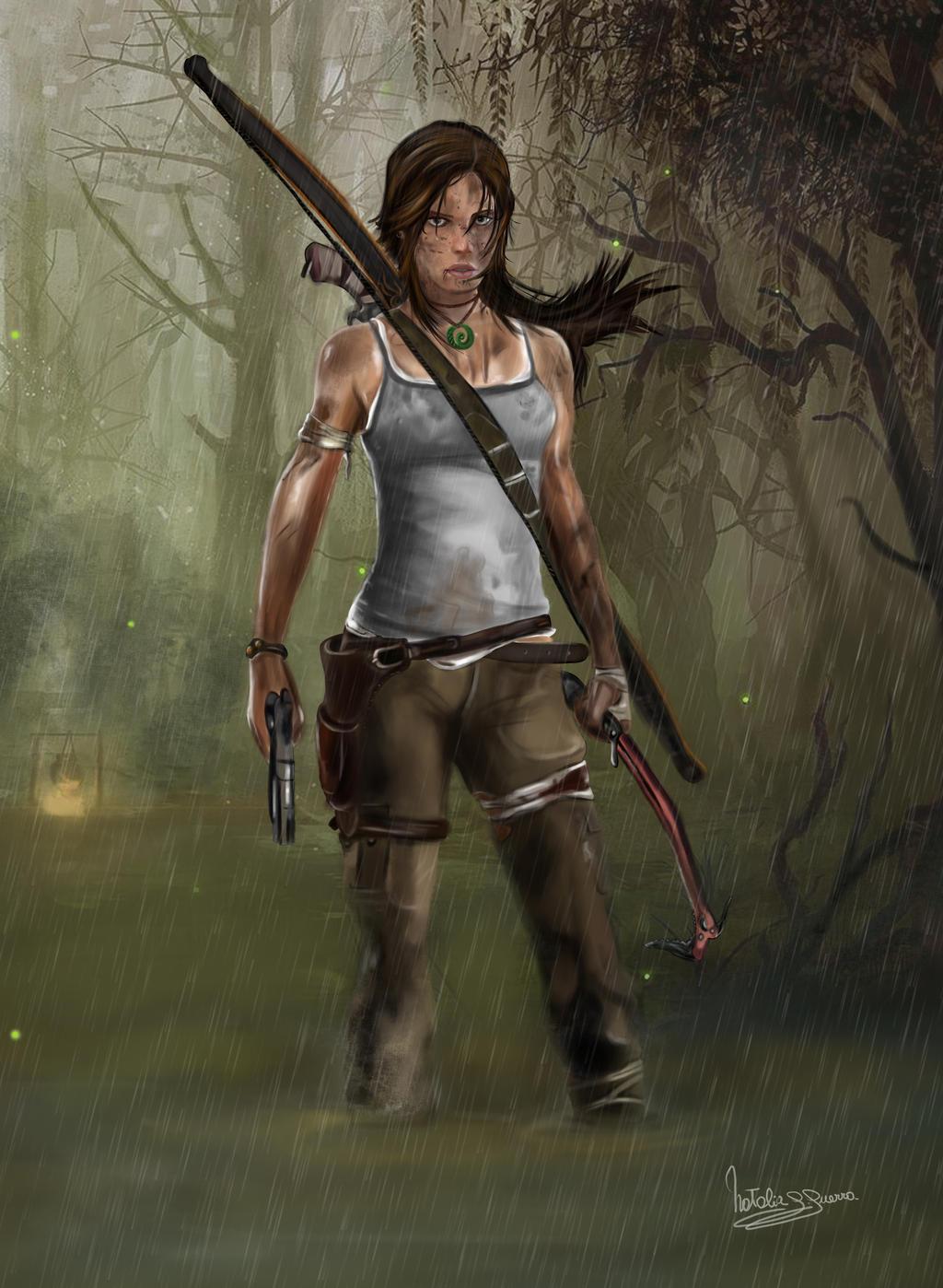 Lara Croft  - Tomb Raider by natiwar02