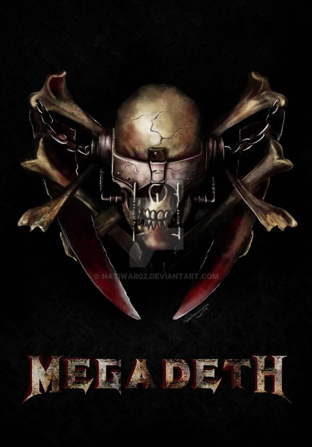 Megadeth by natiwar02