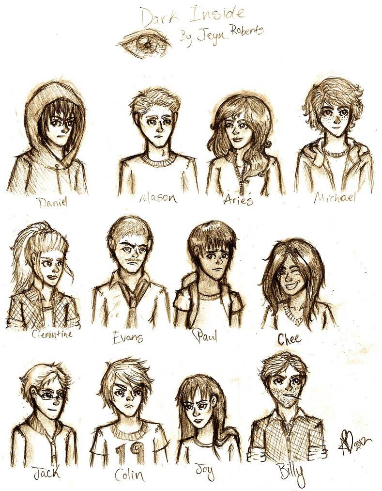 Dark Inside Characters by Xavryn on DeviantArt