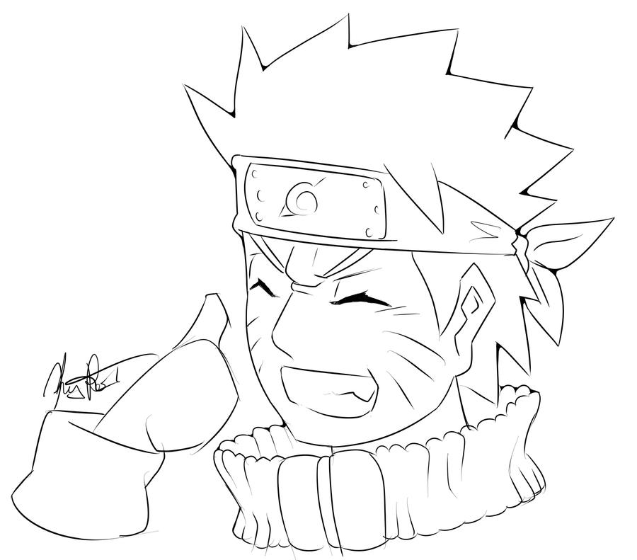 Naruto Quicksketch: Naruto Uzumaki by Kenny-Artist