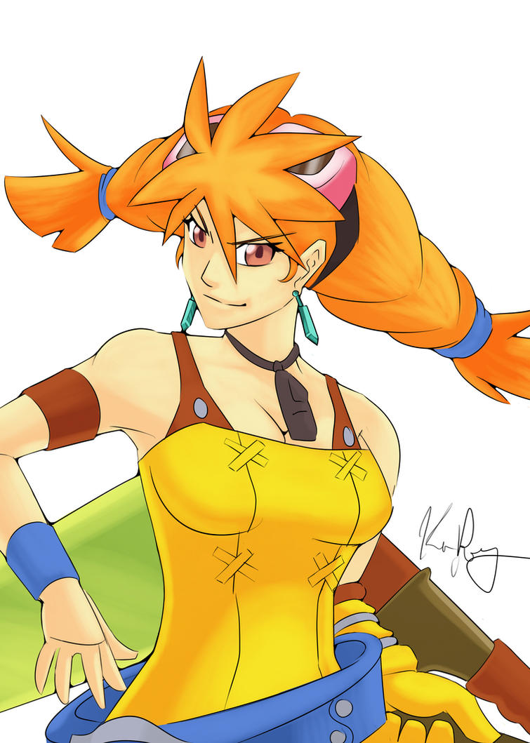 Skies of Arcadia: Aika by Kenny-Artist