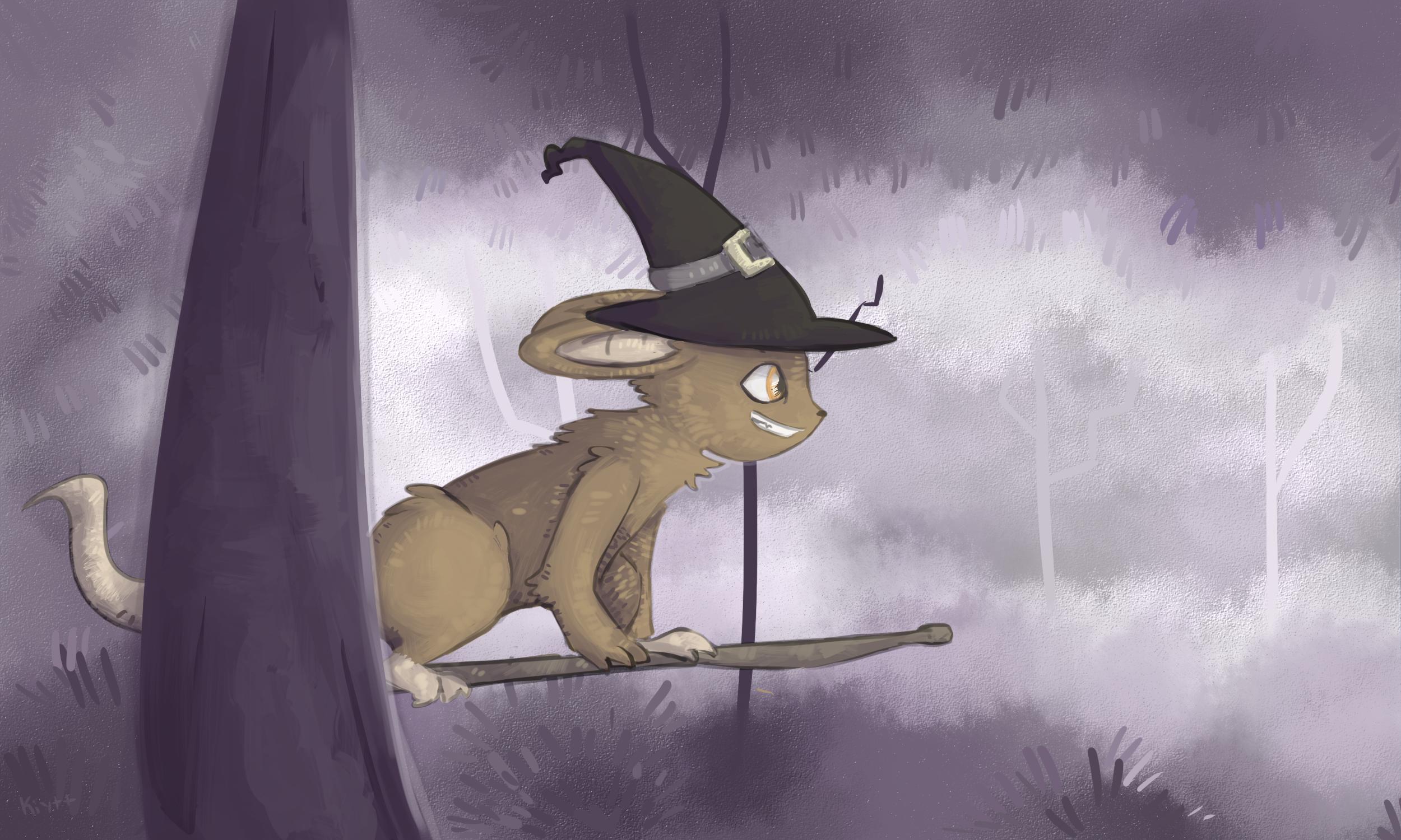 Spooky Forest by Kiytt