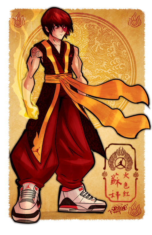 Fire Red Zuko by KWESTONE