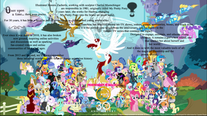 My Little Pony 30th Anniversary poster by SMWStudios