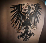 Prussia: Eagle tattoo by EbonyEagle