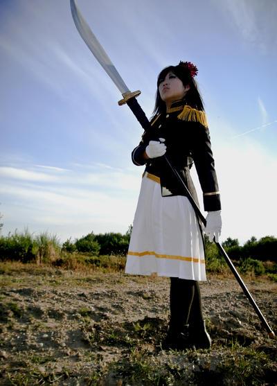Axis Powers Hetalia:  Sakura Honda by EbonyEagle