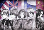Hetalia: The Allies