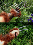 Red XIII (Final Fantasy VII): Claws, finished