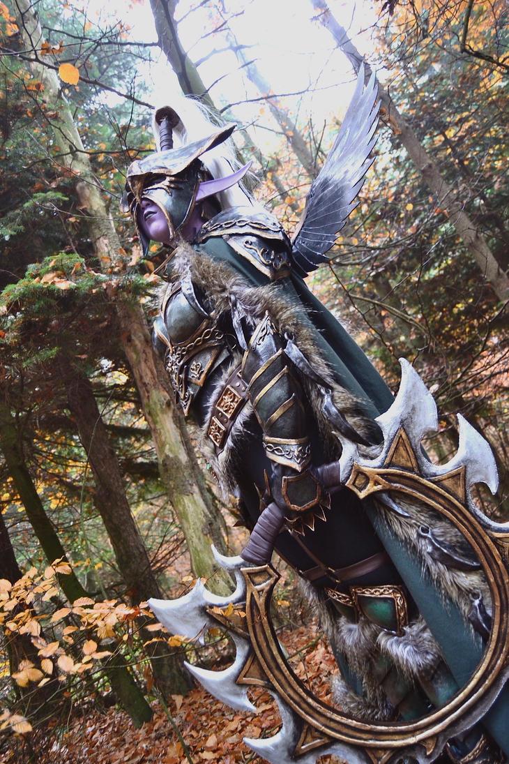 Warcraft III : Maiev Shadowsong by EbonyEagle