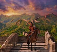 Genghis Khan by ADamselinDesign