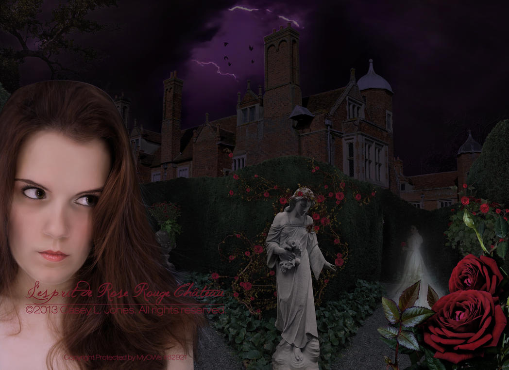 L'esprit de Rose Rouge Chateau by ADamselinDesign