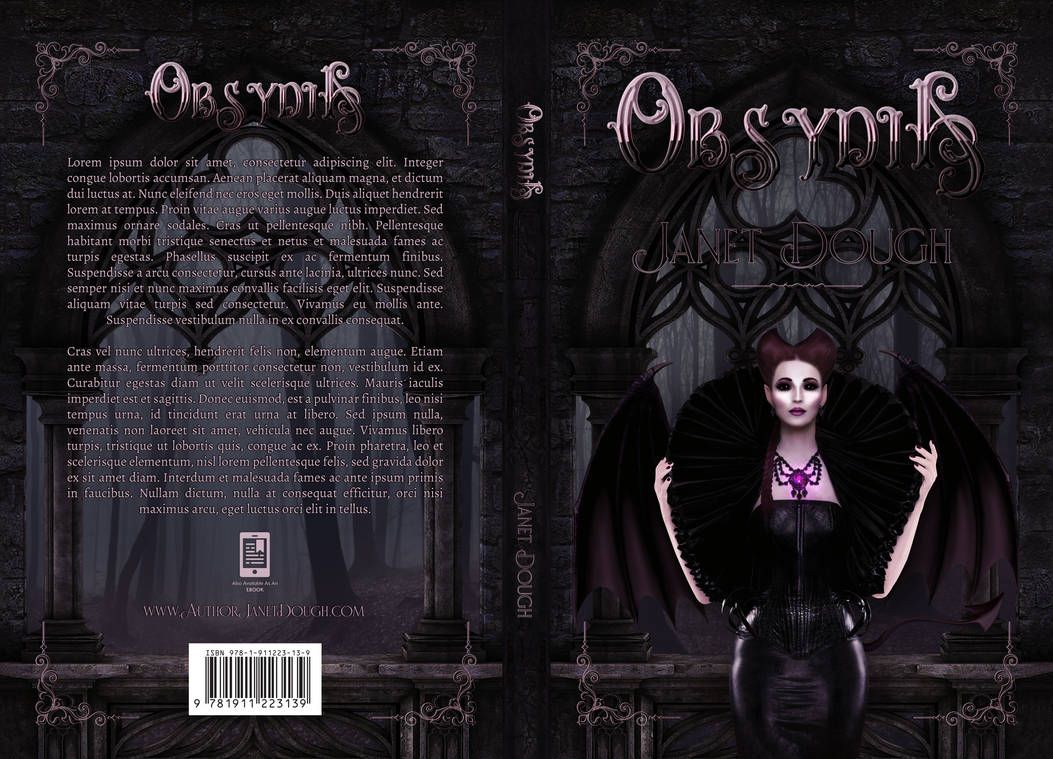 Obsydia - Dark Fantasy/Paranormal Romance Premade