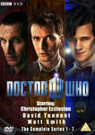 Doctor Who fan made Complete Series DVD Cover