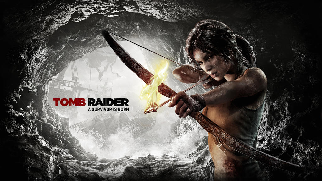tomb_raider_2013___wallpaper_bow_and_fir