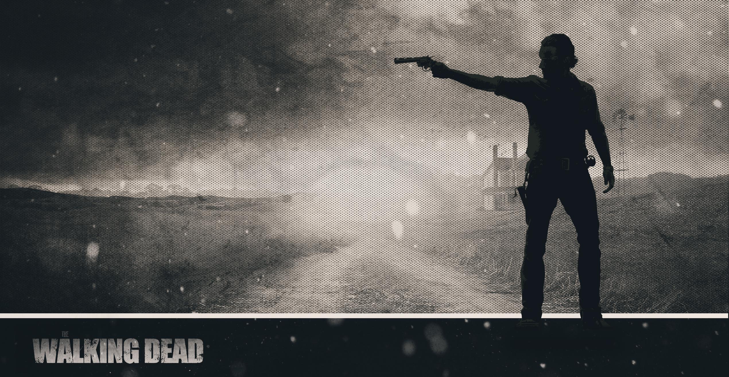 Wallpaper The Walking Dead Rick Farm By Atomicxmario On Deviantart