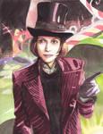 Johnny Wonka by spiderlady