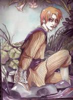 Swamp Demon by spiderlady