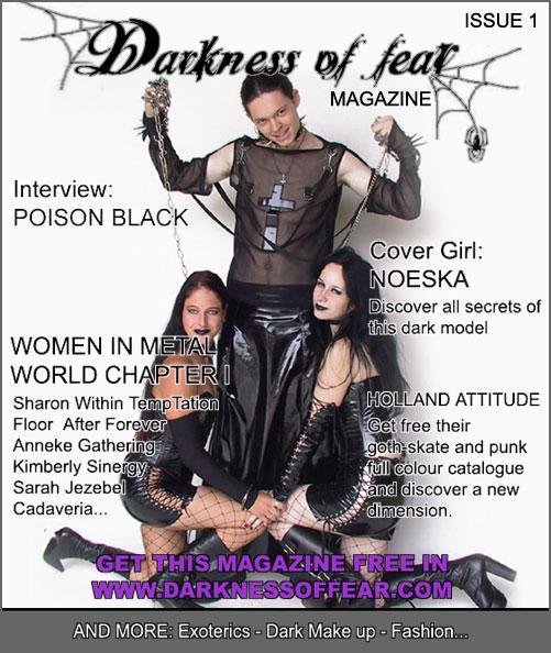 My design for Dof Magazine by angellyca