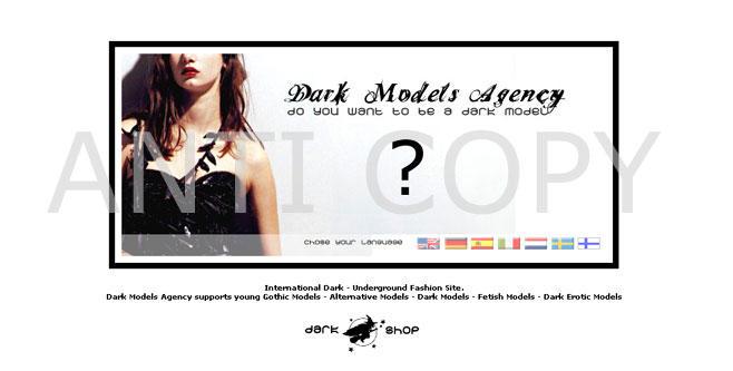 DARK SHOP + DARK MODELS AGENCY by angellyca