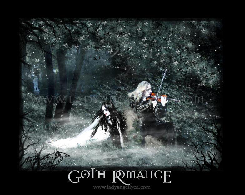 Goth Romance by angellyca