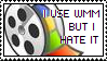 """I Use WMM, I Hate It"" stamp by rainbeos"