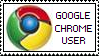 'Google Chrome User' stamp by rainbeos
