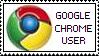 'Google Chrome User' stamp by rainbeos
