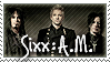 Sixx:A.M. stamp - commish by rainbeos