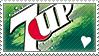7 Up love stamp