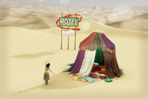 Tent Motel by EbruKash