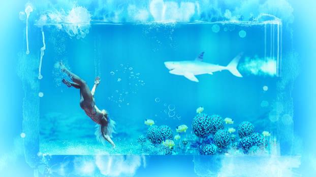 Wallpaper under Water