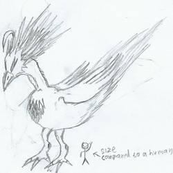 Bird God... thing by FlamingDbag