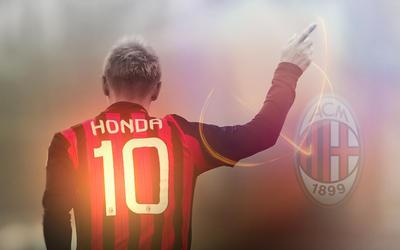 AC Milan Keisuke Honda by maco915