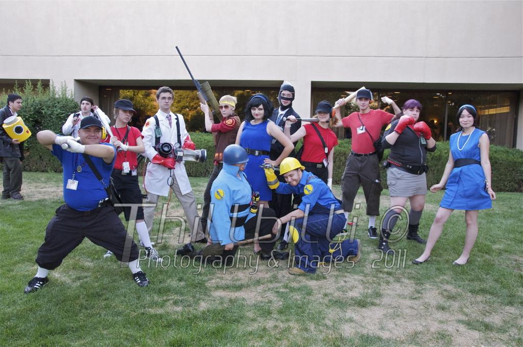 Team Fortress 2 by Thillbilli